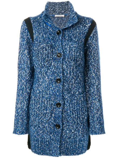 Dorothee Schumacher cardigan knitted cardigan cardigan women cotton blue wool sweater