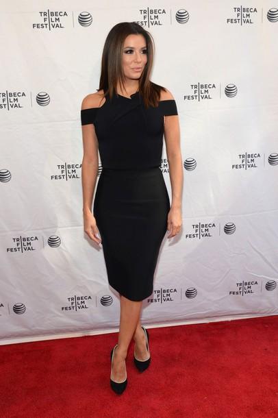 Dress Black Dress Eva Longoria