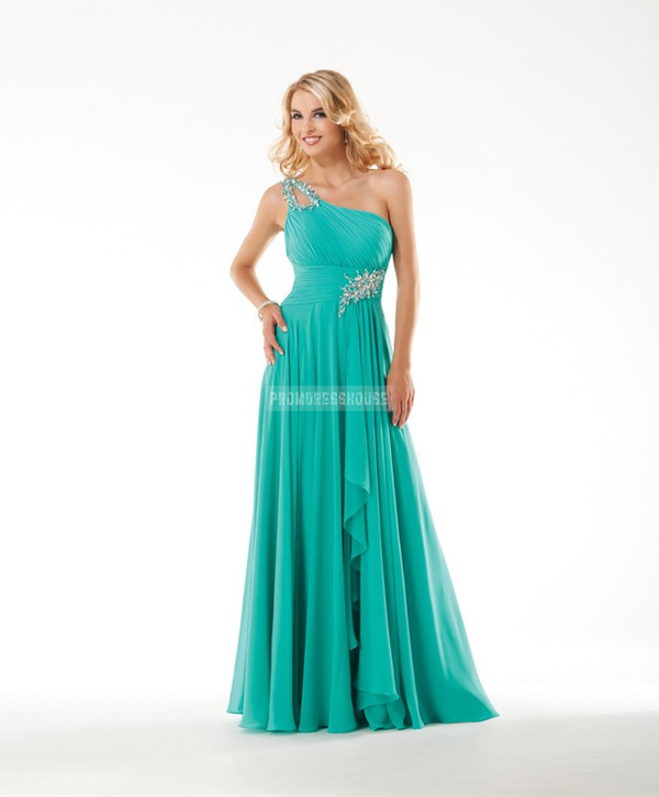 long dress fashion dress sexy dress evening dress beading green dress