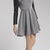 [US$46.99] - Gray Wool Splice Skirt Long Sleeve Dress : ThatsPoint.com