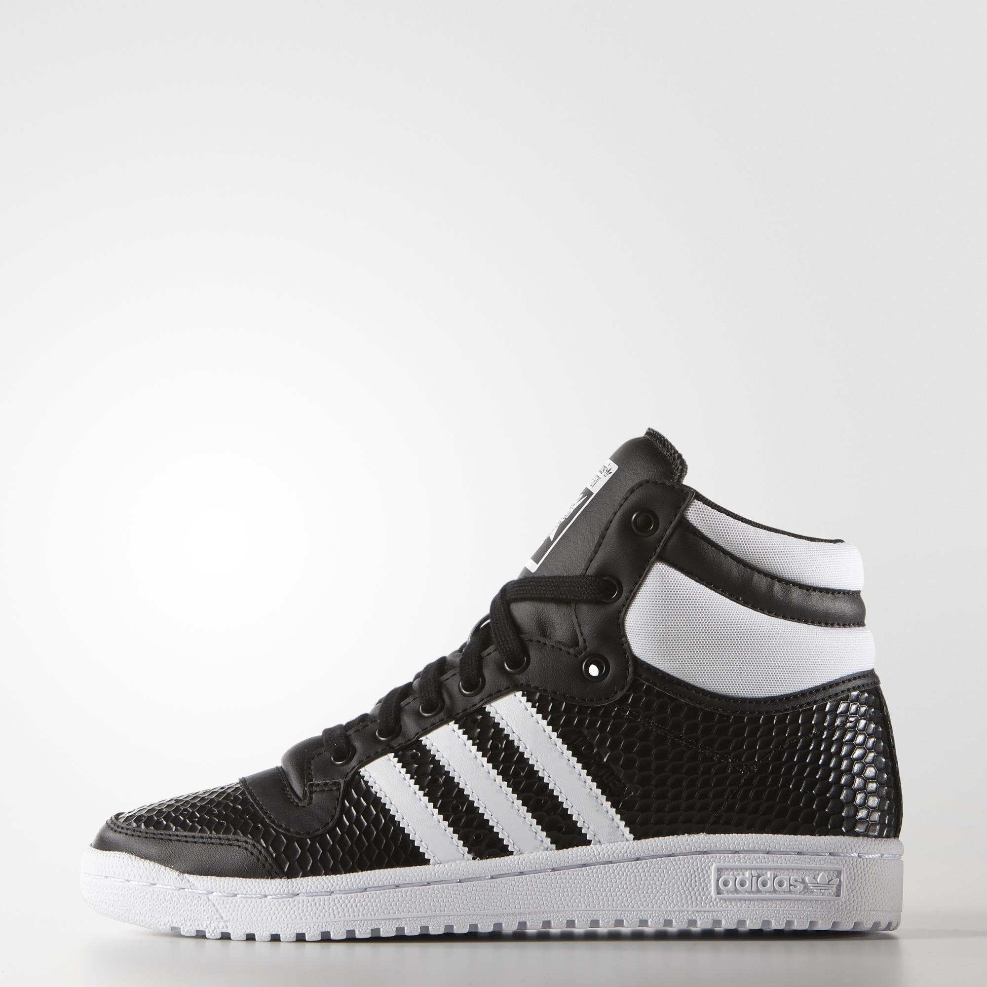 adidas Top Ten Hi Shoes Black | adidas US