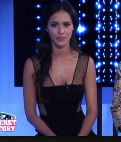 black tv show black dresses secret story elegant