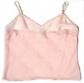 top,silk,pink,t-shirt,tank top,light,pastel,pastel pink,straps