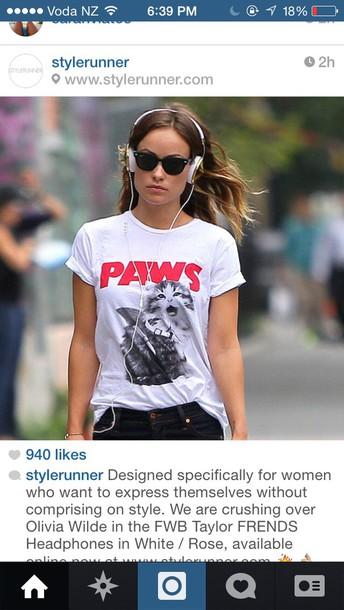 top t-shirt meow cats
