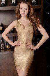 gold,apparel,accessories,clothes,dress,bandage dress