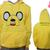 Adventure Time With Finn And Jake Game Hoodie Cosplay Costume - Anime Toys Store Powered by MatShop
