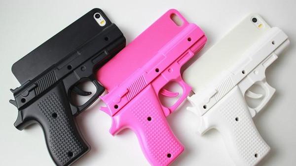 Gun Iphone 5 5s 6 6s Cool Fashion Killer 3d Handgun Pistol
