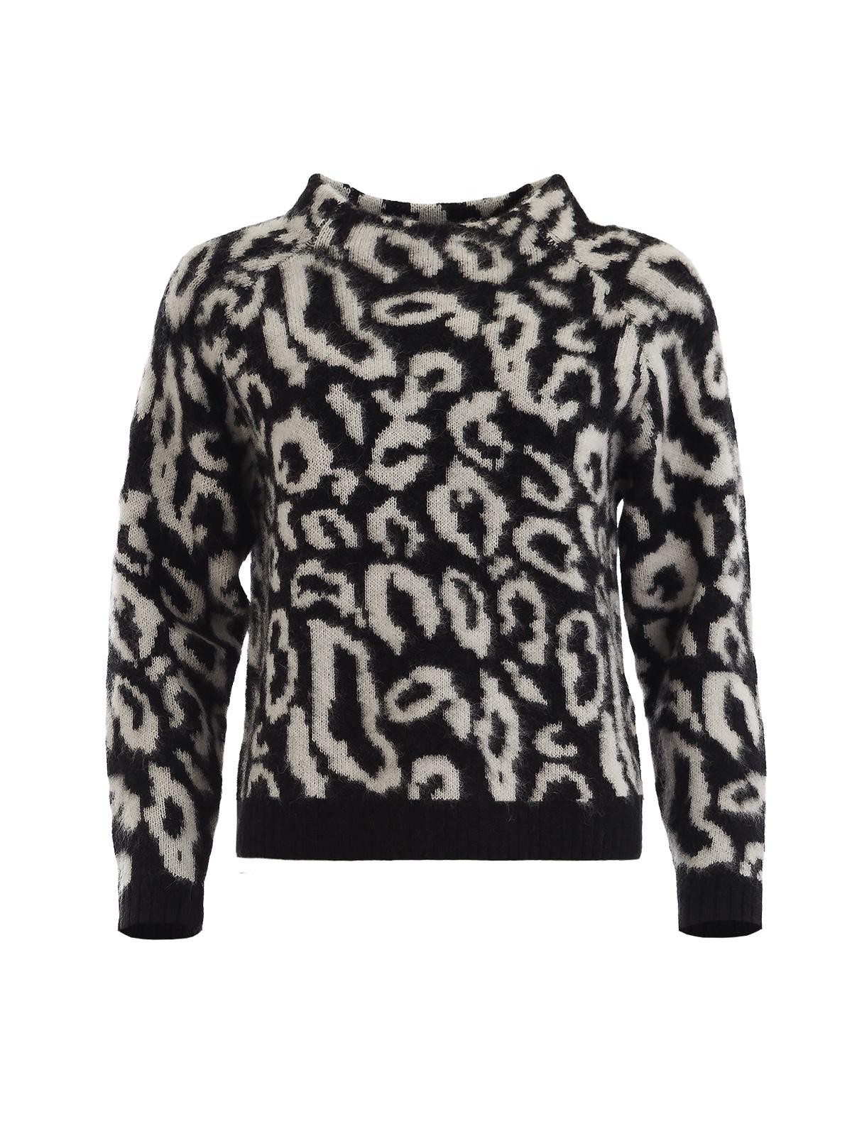 FENSIA BLACK KNITWEAR SWEATER | Shop for Fashion Trends in Knitwear, Jumpers & Cardigans - GIRISSIMA.COM