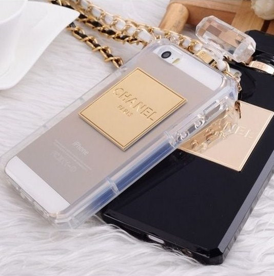 Iphone 5/5s chanel perfume bottle case usa seller! fast ship