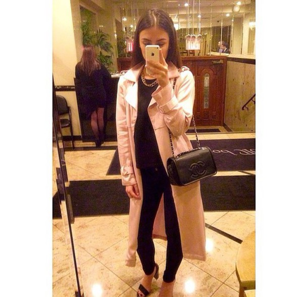 jacket bag shoes shirt pants
