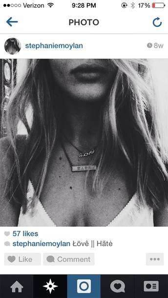 jewels necklace hate
