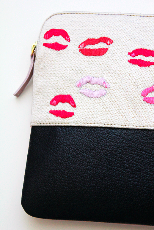 Le Fashion: KISS KISS | LIZZIE  X DECADE CLUTCH