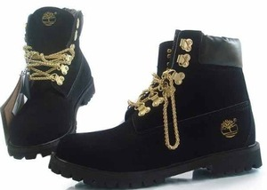 Krush girlz — chain gang timberland black (adult)