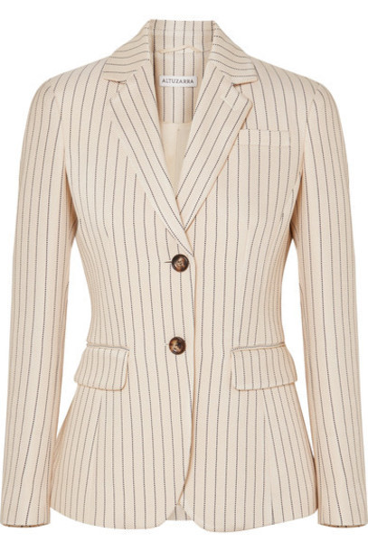 Altuzarra blazer cream jacket