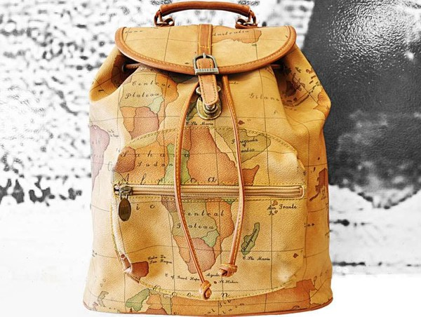 bag map map print backpack back to school rucksack world back to school leather backpack