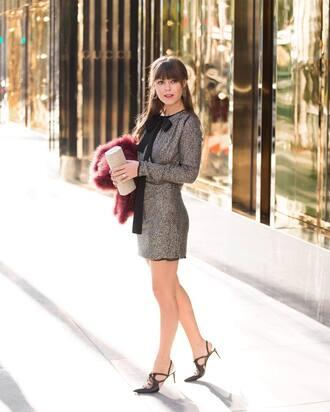 dress tumblr mini dress silver silver dress sparkly dress long sleeves long sleeve dress high heels heels black heels shoes clutch metallic clutch holiday season holiday dress new year dresses
