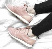 shoes,Reebok,pink sneakers,reebok classic