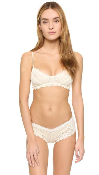bralette cream underwear