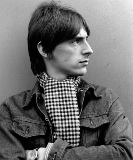 scarf mod checkered.chequered checks paul weller the jam