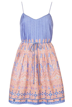 **Paisley Print Sundress by Kate Moss for Topshop - Dresses - Clothing - Topshop USA