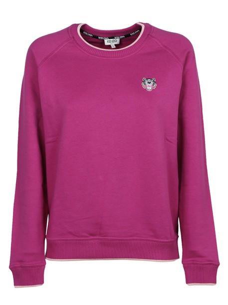 sweater classic purple pink