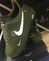 shoes,nike,nike running shoes,olive green,running shoes,nike air olive green