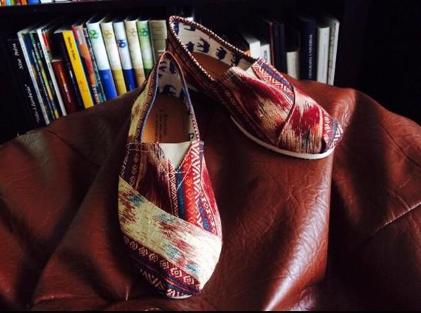 7fdc0bb24c6 shoes alpercatas aztec print paez toms shoes women toms toms women aztec  print skirt aztec shoes