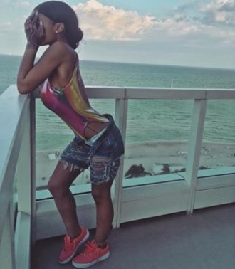 swimwear colorful swimwear india westbrooks one piece swimsuit denim shorts ripped
