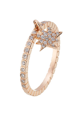 rose gold rose diamonds ring gold ring rose gold ring gold white jewels
