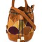 See by chloé 'vicki' patchwork bucket tote, women's, brown