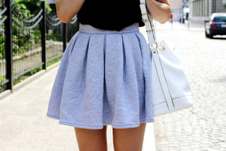 skirt grey skirt high waisted skirt beautiful cute date outfit outfit grey gray blue hot pleated skirt mini skirt