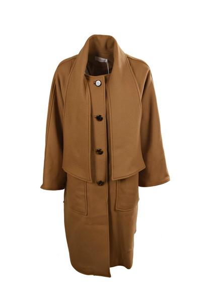 Tory Burch coat classic camel
