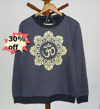 sweater aum om shirt top t-shirt jumper