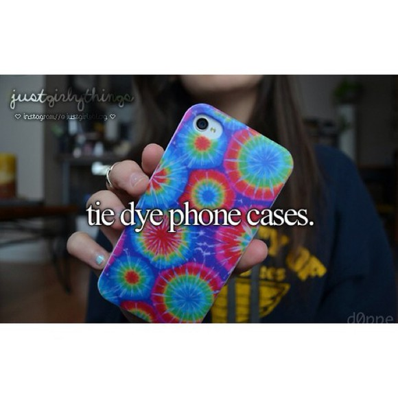 phone case case phone tie dye girly