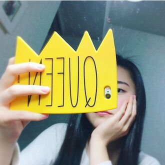 phone cover yeah bunny queen crown cute iphone case iphone