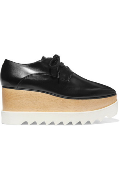 Stella McCartney leather black shoes