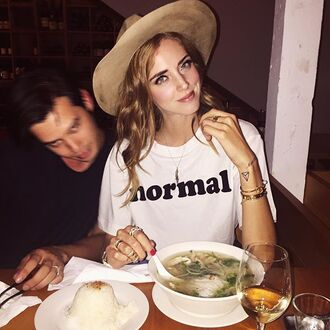 t-shirt the blonde salad chiara ferragni blogger