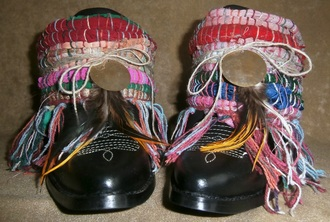 shoes fairtrade boho namaste bohemian festival upcycledboots cowboyboots gypsy native tribe ethnic
