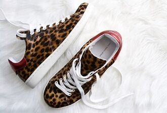 shoes snikers panther panthere basket tennis leopard print