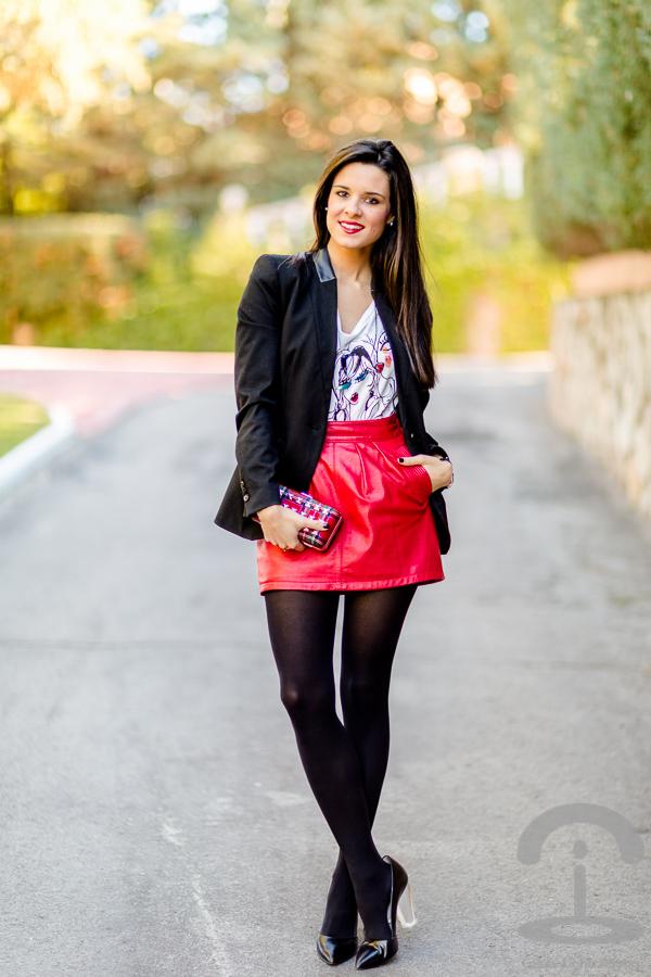 DIY Clutch Tartan | Crímenes de la Moda en stylelovely.com