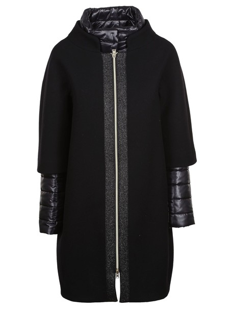 Herno jacket layered black