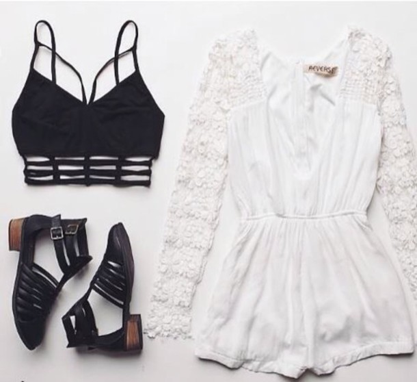 jumpsuit sandals ankle straps booties boots jelly look alikes woven shoes cut-out cut out ankle boots dress top blouse romper bralette shoes underwear shirt crop tops white romper lace dress black cool shoes white strappy crop tops
