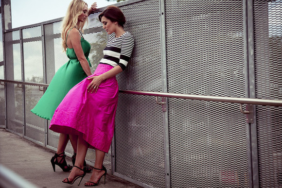 skirt pink skirt dress pink vintage green pleat bright green dress midi dress emerald bright colours hot pink dior midi skirt