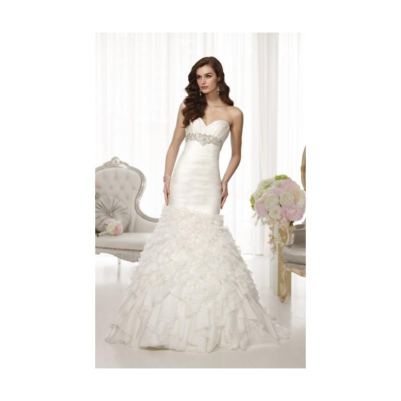 Essense of Australia Empire Waist Wedding Dresses                     Style D1458 -  Designer Wedding Dresses|Compelling Evening Dresses|Colorful Prom Dresses