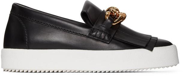 Giuseppe Zanotti sneakers black shoes