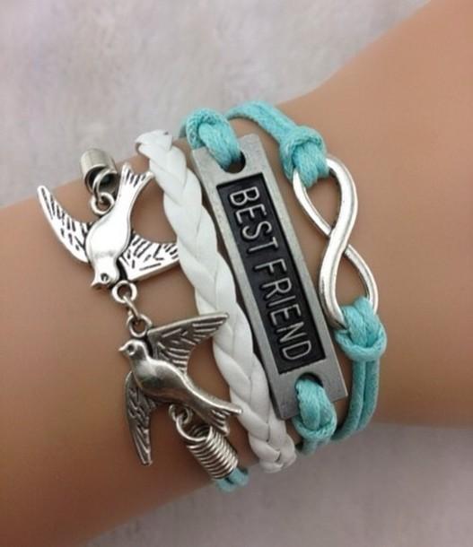 jewels blue bff triple