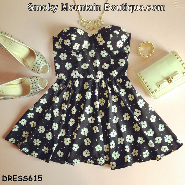 dress bustier black and white sexy dress short floral dress short party dresses short prom dress short dress black floral dress short black dress