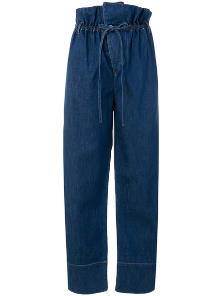 Stella McCartney jeans women spandex cotton blue 24