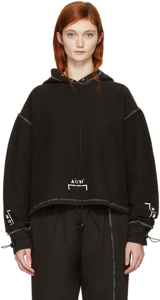 A-cold-wall* hoodie black sweater