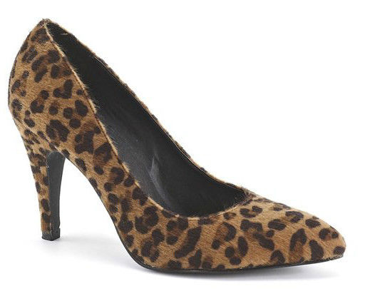 Animal Print High heels Size S 4~5 | eBay